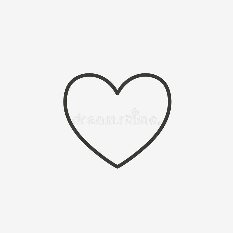 心脏概述象 库存例证