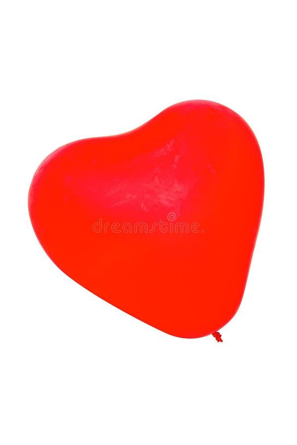 心脏气球形状 库存图片