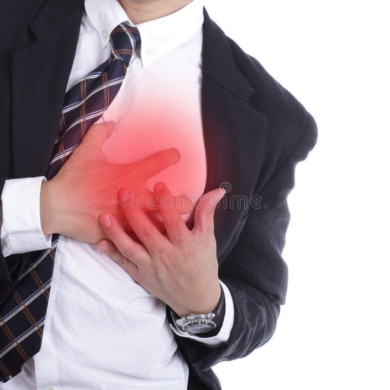 心脏病发作 库存照片
