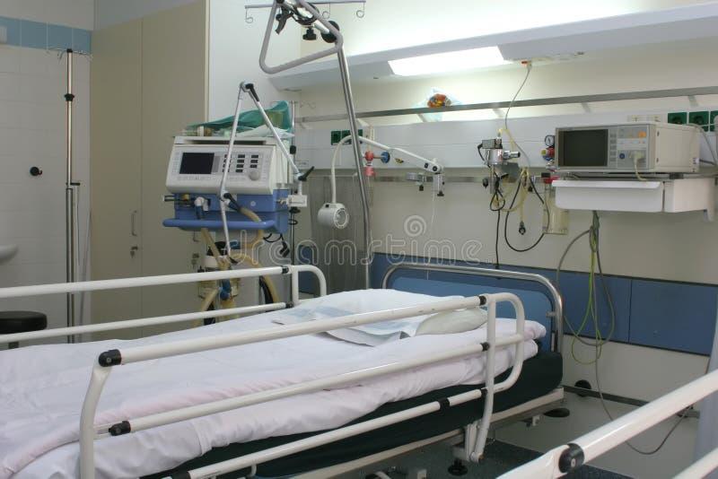 心脏病学房间医院 库存照片