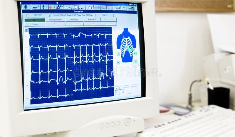 心脏病学服务台办公室 库存照片