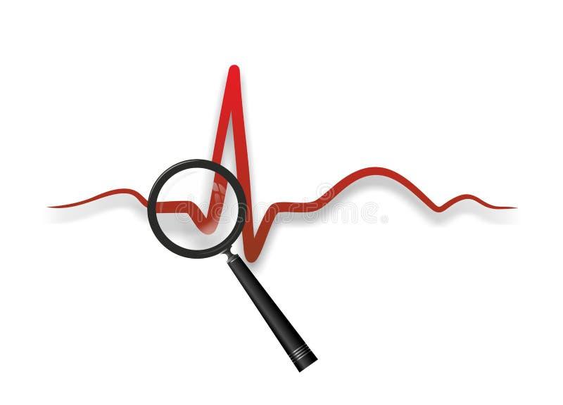 心脏医学 库存例证