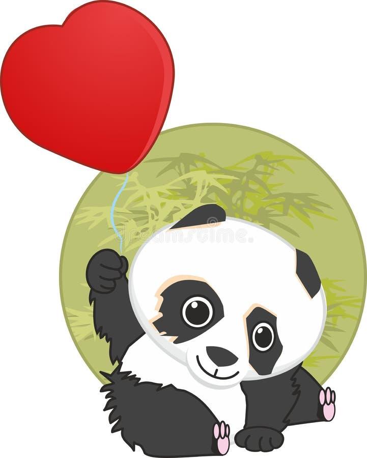心脏 红色爱天使飞过大爱的心脏 礼品 信函 丘比特 丘比特 天使华伦泰` s天 箭头 男孩人nlouds熊猫传染媒介 库存例证