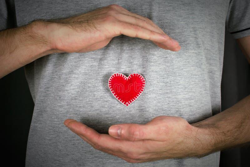 心血管病的预防 库存图片