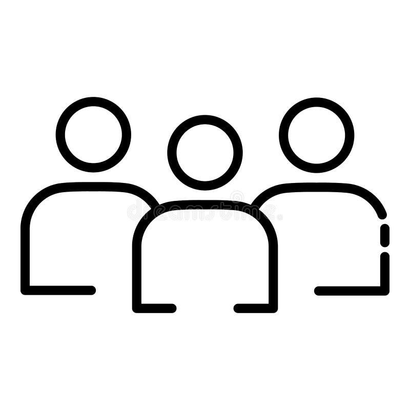 志愿组图标,概述样式 皇族释放例证