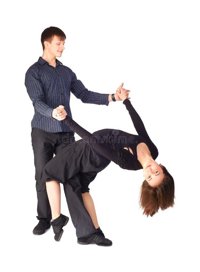忙碌舞蹈家 免版税库存照片