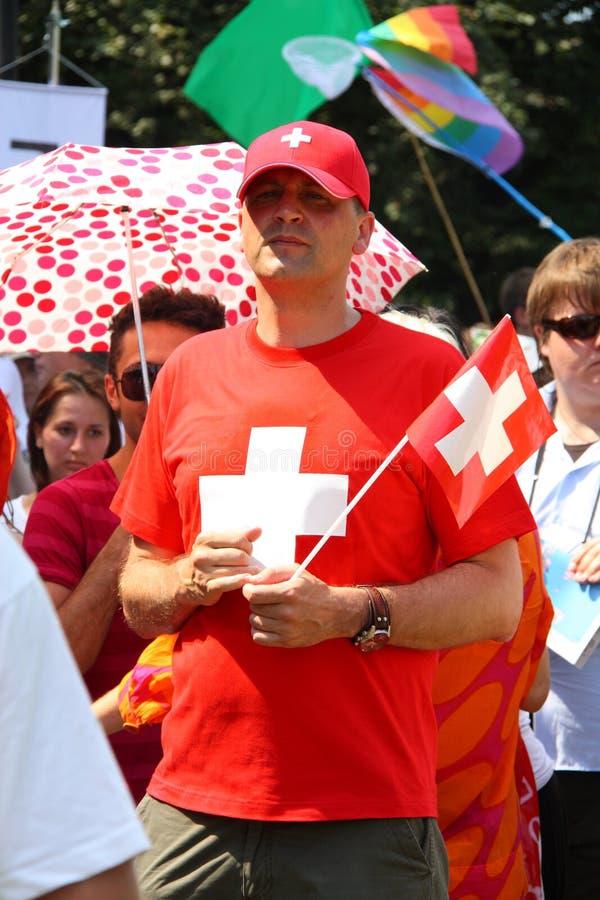 快乐瑞士 免版税库存图片