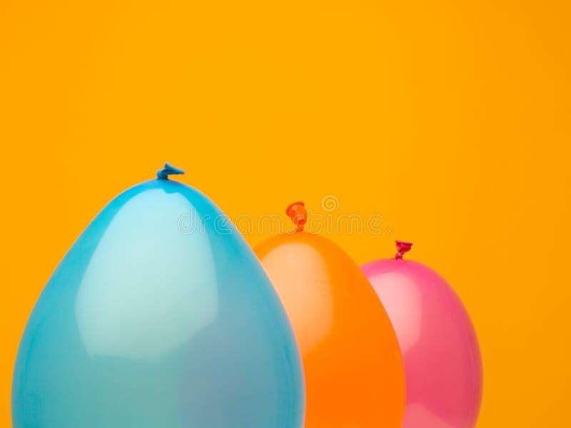 快乐的五颜六色的球形 图库摄影