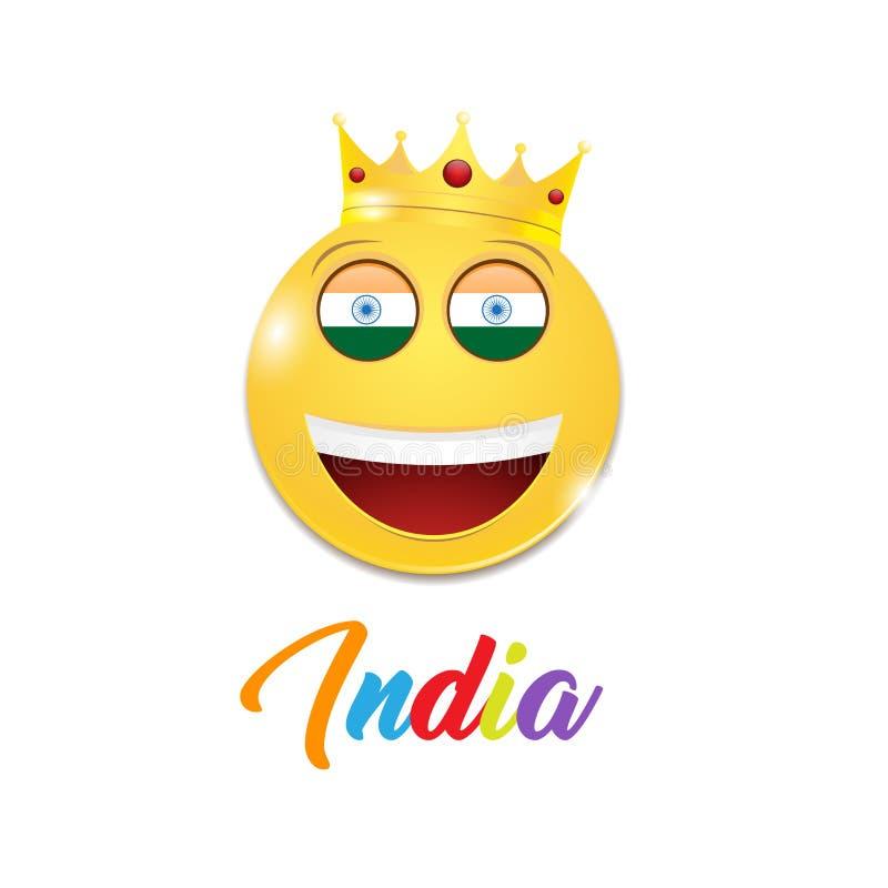 快乐的印度 向量例证