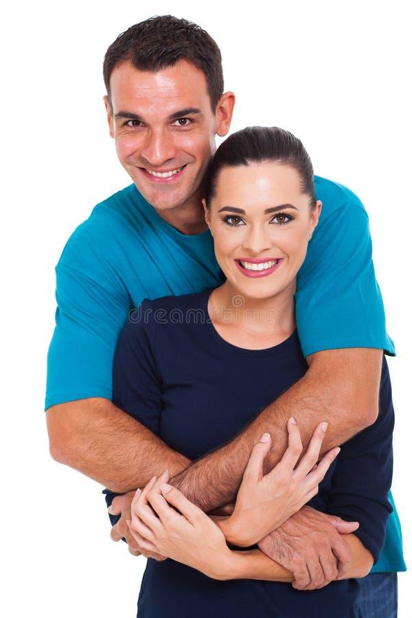 快乐的夫妇 免版税图库摄影