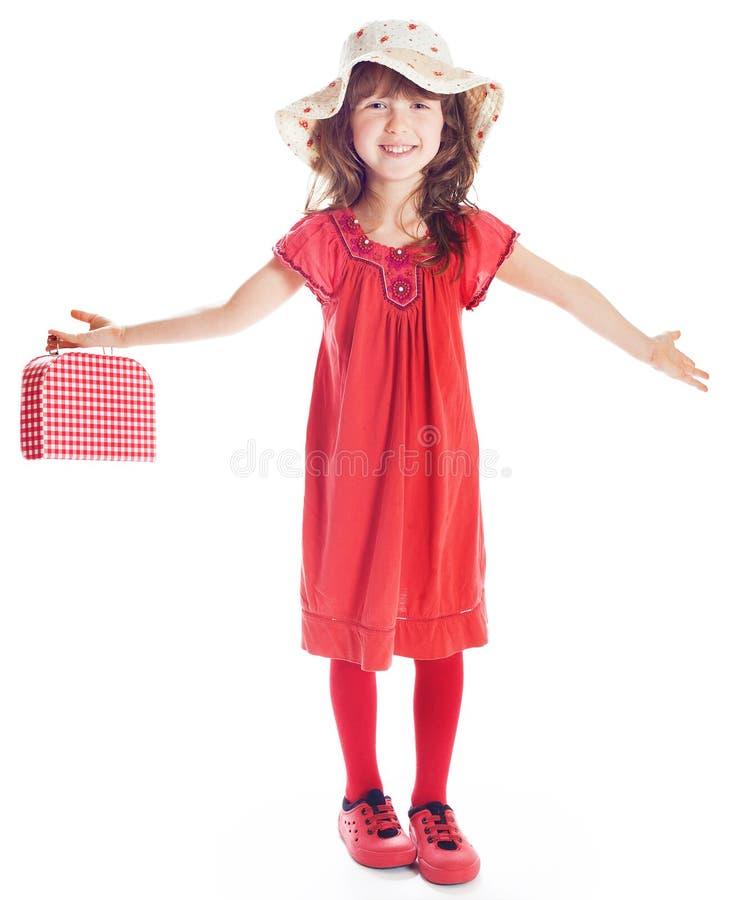 快乐的女孩 免版税库存图片