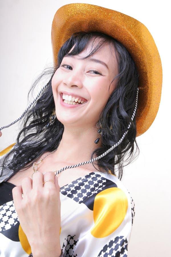 快乐的女孩 图库摄影