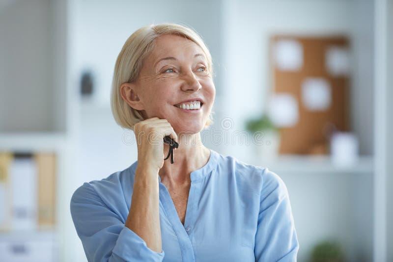 快乐的妇女 免版税库存图片