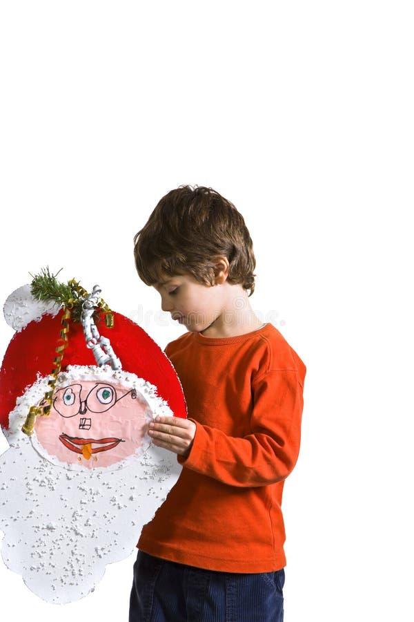 快乐的孩子纵向 库存照片