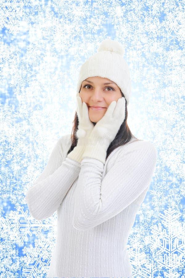 Download 快乐的衣物帽子温暖的妇女 库存图片. 图片 包括有 1月, 现有量, 穿戴, 逗人喜爱, 头发, 表面, 帽子 - 22358561
