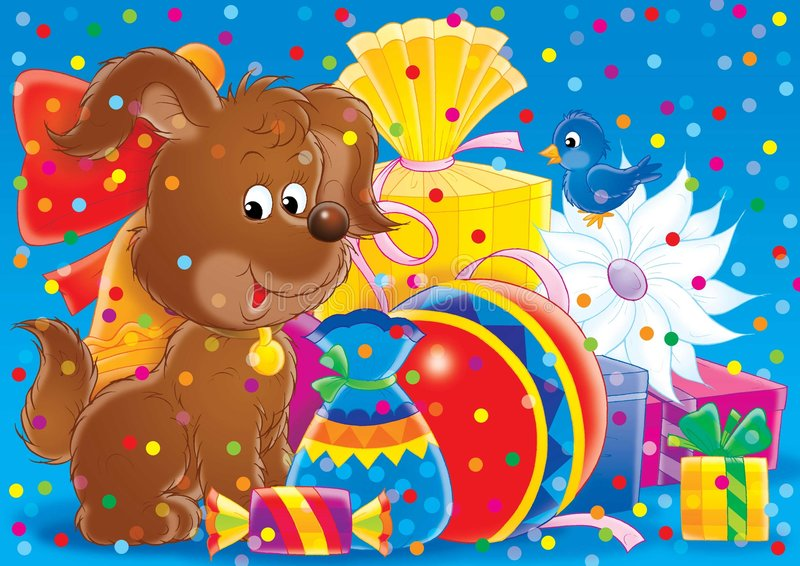 Download 快乐13个的动物 库存例证. 插画 包括有 神仙, 传说, 茴香, 节假日, 安卡拉, 双翼飞机, 例证, 快乐 - 189043