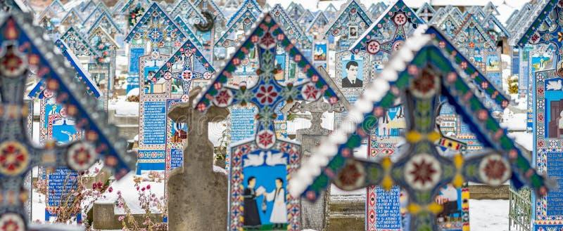 快活的墓地 免版税库存图片