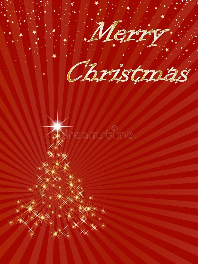 快活背景的圣诞节 皇族释放例证