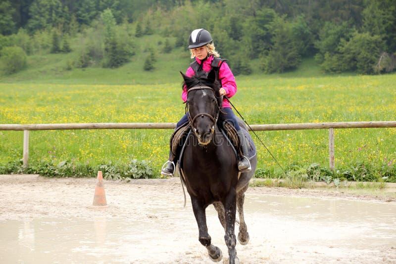 快速的骑马 免版税图库摄影