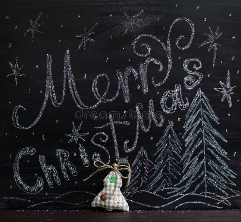 快活圣诞节的问候 向量例证