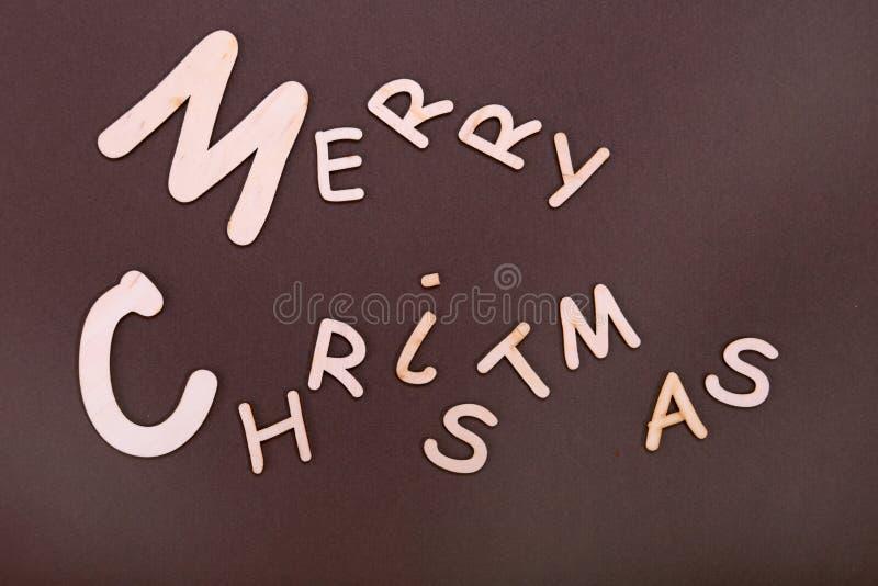 快活的圣诞节 贺卡和装饰品 另外的背景格式xmas 免版税图库摄影