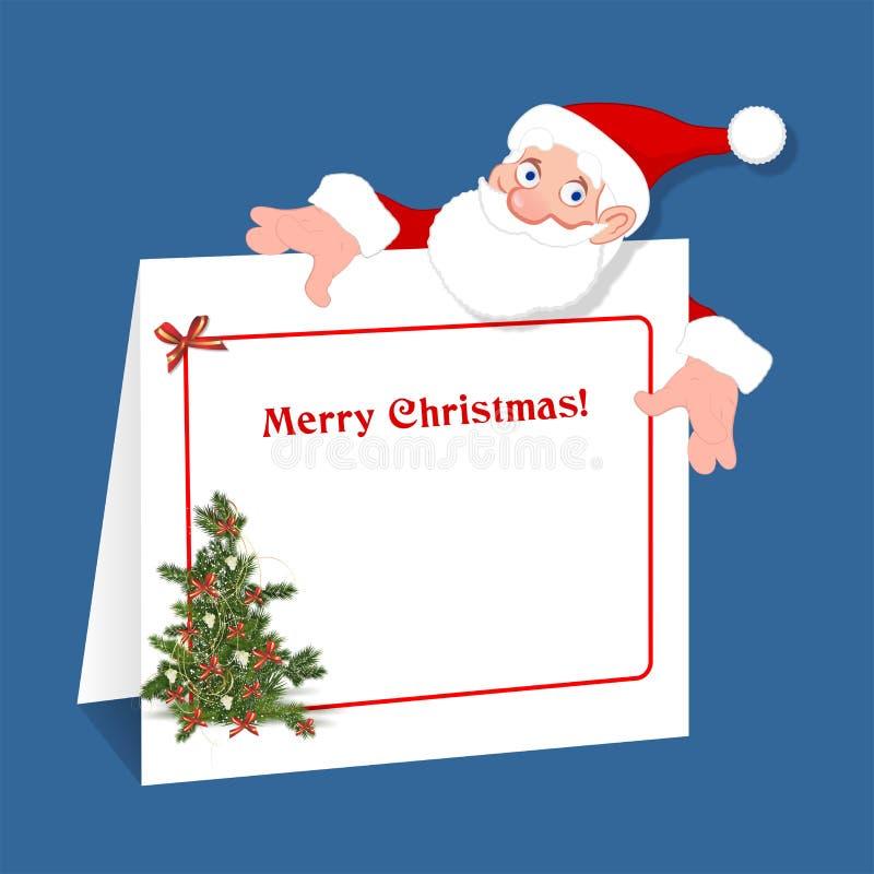 快活的圣诞节 皇族释放例证