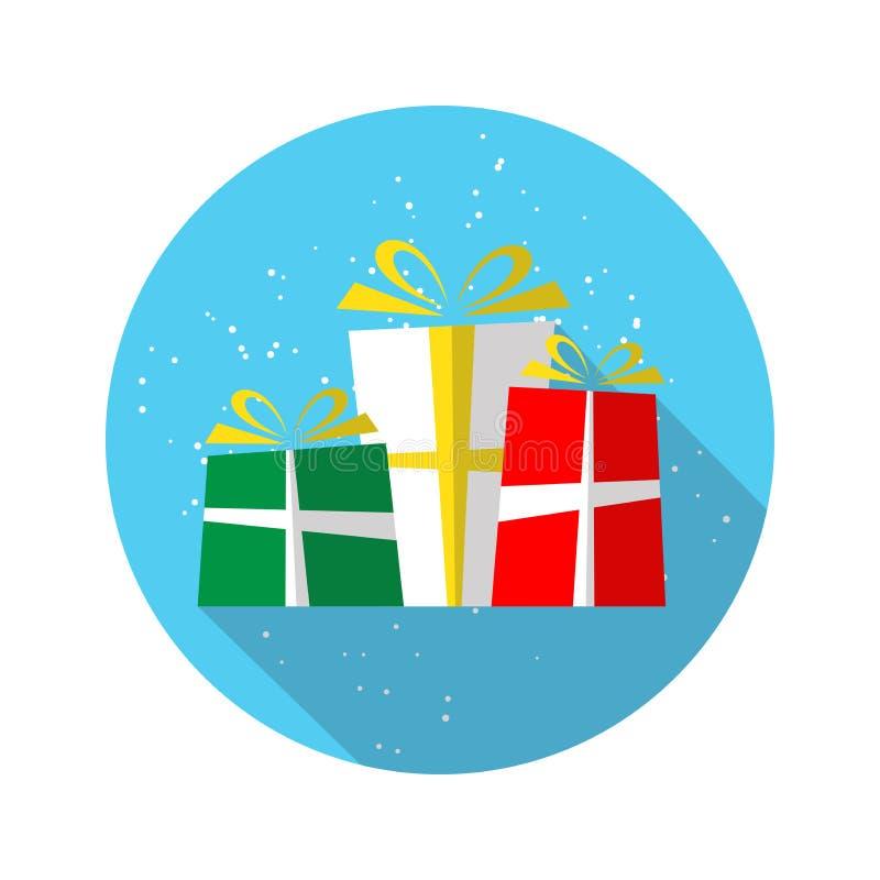快活的圣诞节19 皇族释放例证