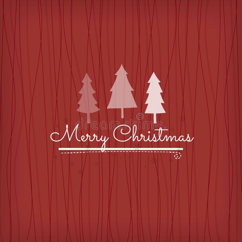 快活背景的圣诞节 库存例证