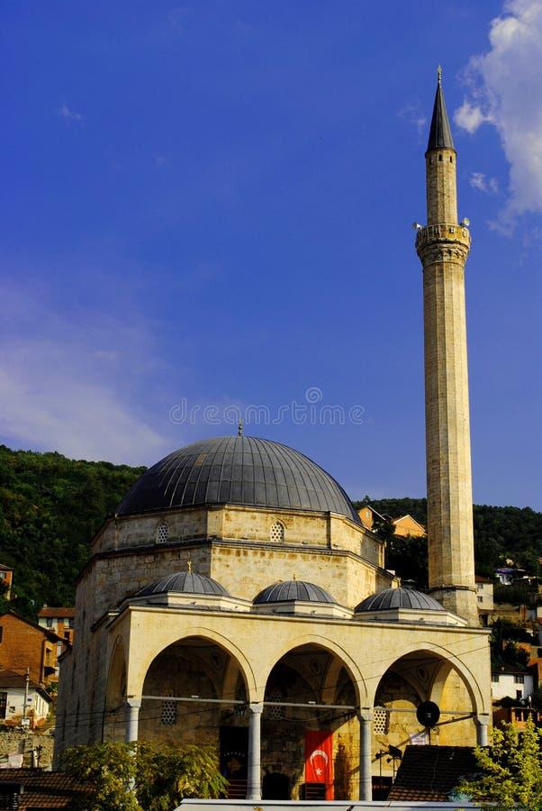 思南巴夏清真寺,普里兹伦 库存照片
