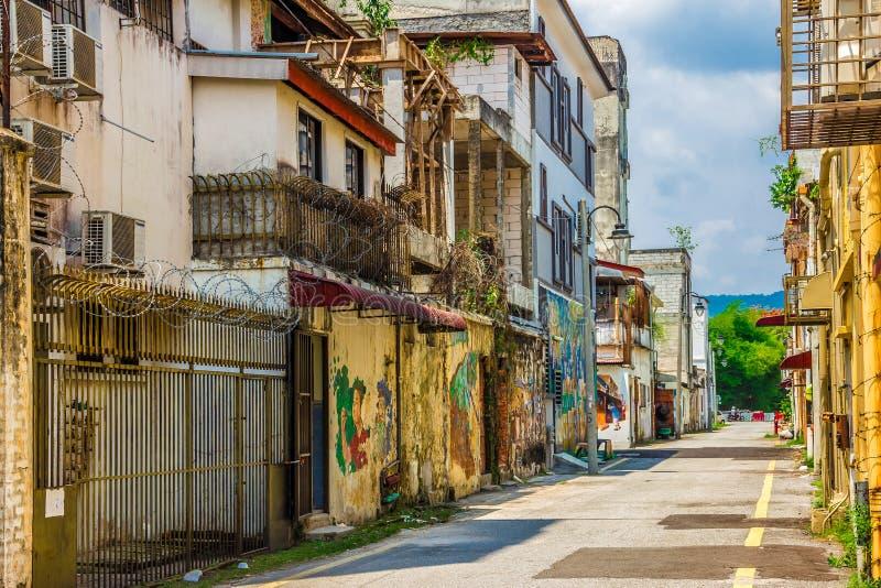 怡保,马来西亚- 2019年3月4日:住宅房子复合体 图库摄影