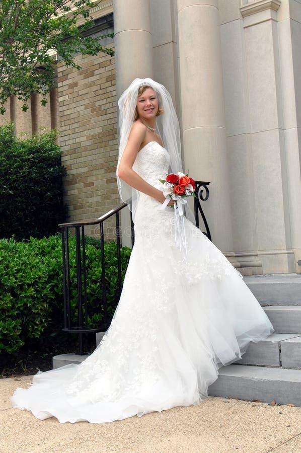 急切新娘 免版税库存图片