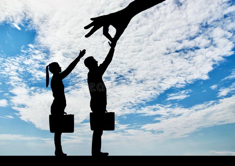 性别不平等的概念在事业歧视的
