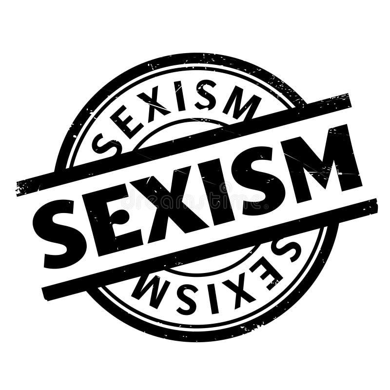 性别歧视不加考虑表赞同的人 向量例证