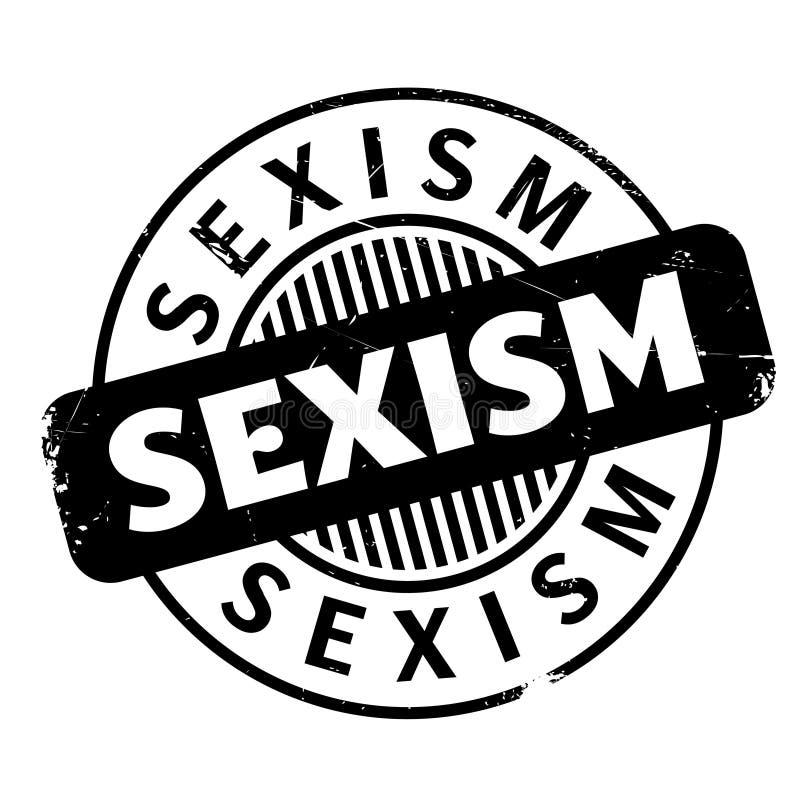 性别歧视不加考虑表赞同的人 免版税库存图片