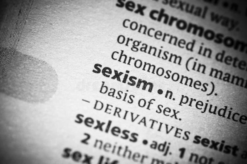 性别歧视 库存图片