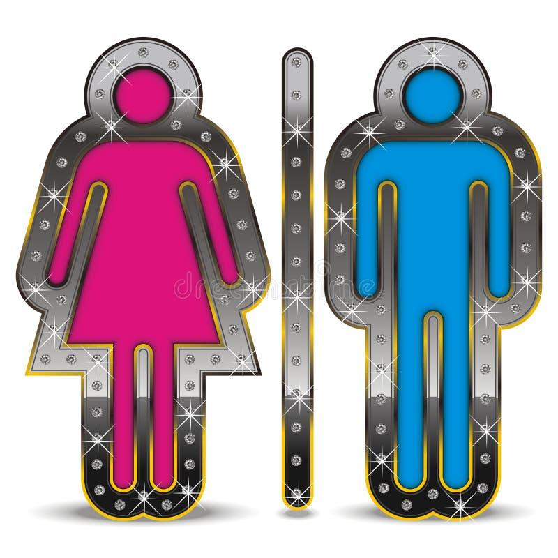 性别符号 库存图片