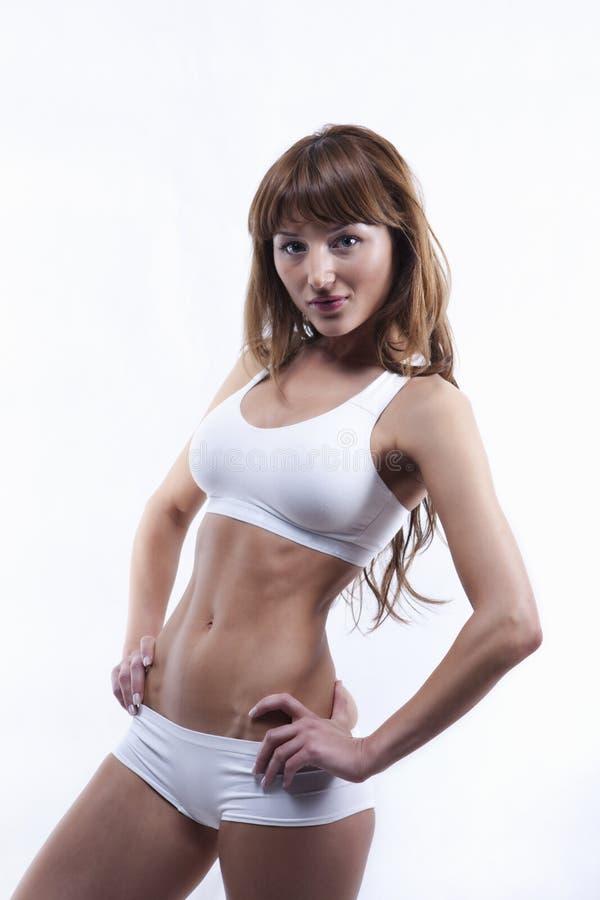 性感机体的女性s 免版税图库摄影
