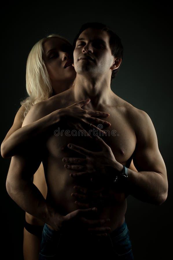 性感的夫妇 免版税库存图片