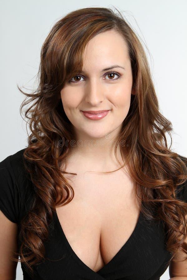 性感的妇女年轻人 免版税库存图片
