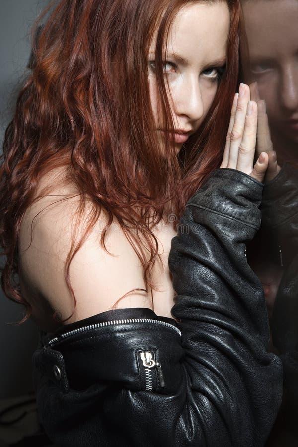 性感的妇女 图库摄影