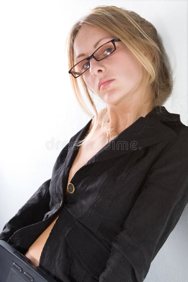 性感的教师 免版税图库摄影