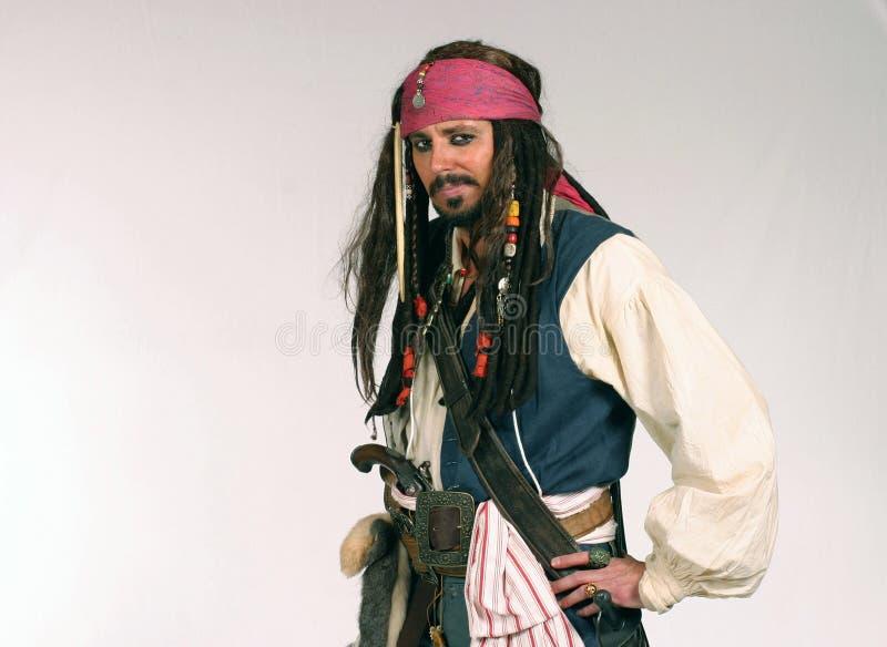 性感的海盗 免版税库存图片
