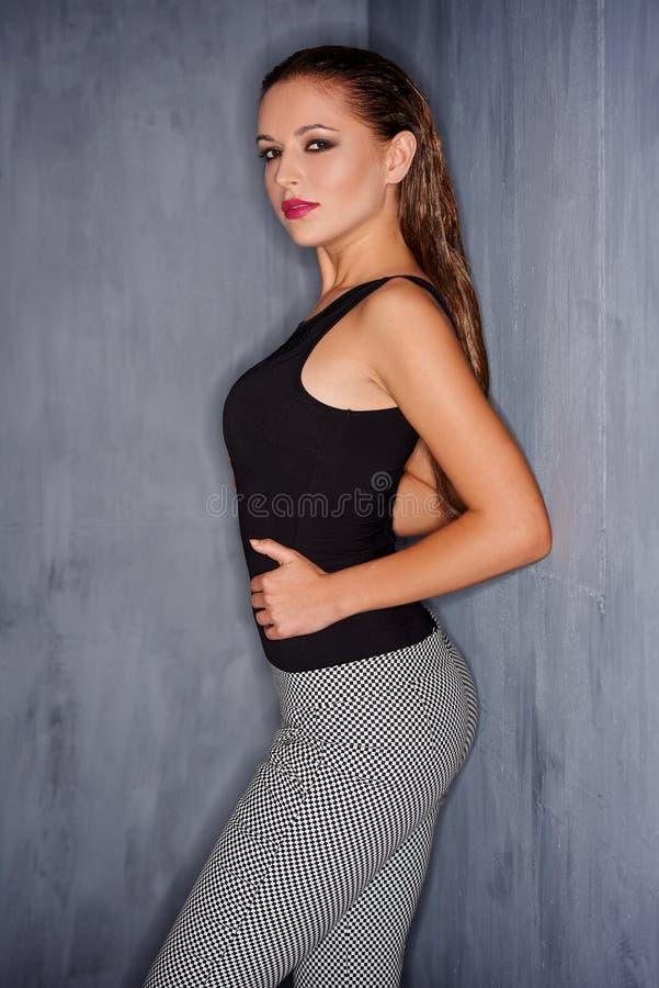 性感的美丽的妇女 图库摄影
