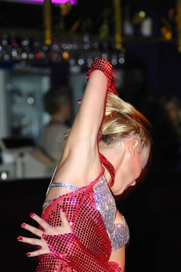 性感的舞蹈演员 图库摄影