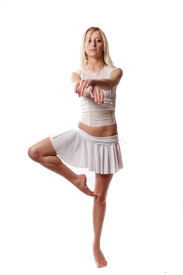 性感的舞蹈演员 库存照片