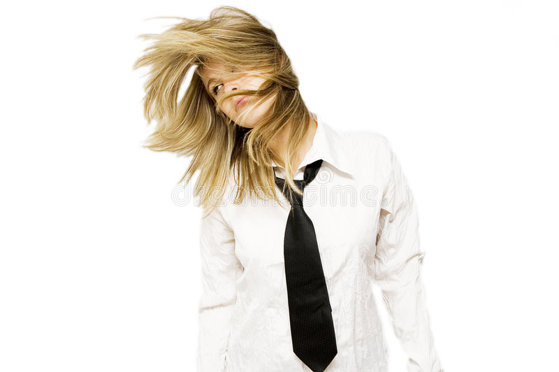 性感的blondie 库存图片
