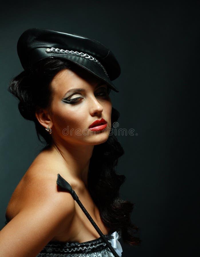 性感迷信模型的成套装备 免版税库存图片