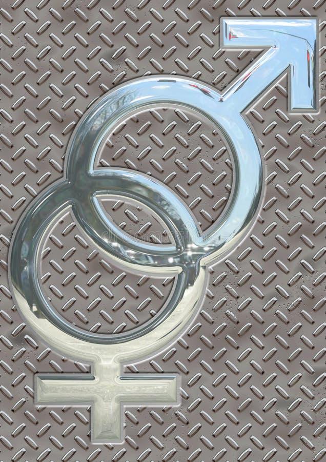 性标志 免版税库存照片