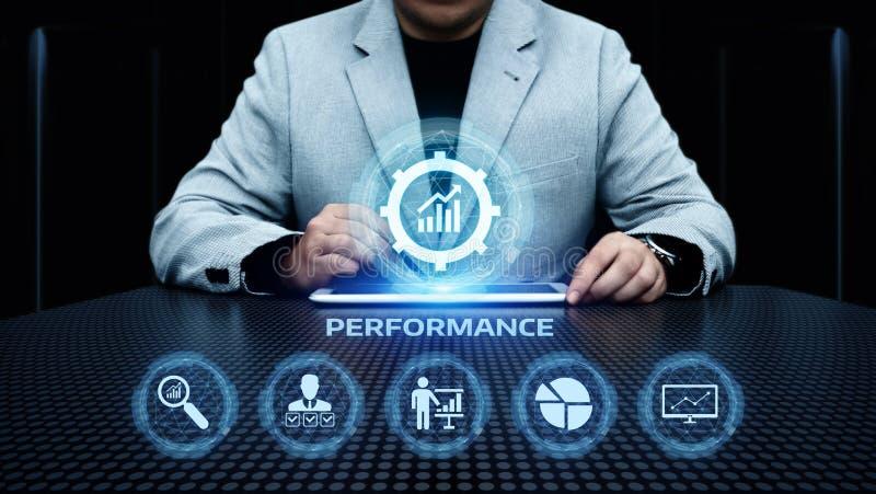 性能管理效率改善企业技术概念 图库摄影