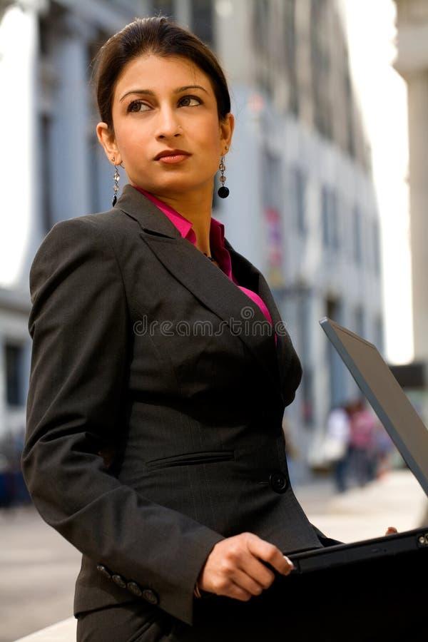 总公司印第安妇女 免版税库存图片